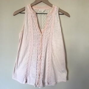 Anthropologie Tops - Anthropologie Meadow Rue Jenson Button Up Tank